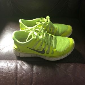 4d12dad532bb5 Women s Nike Neon Green Running Shoes on Poshmark